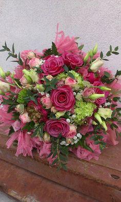 Tone in Tone - Tone in Tone Pink Bouquet, Bouquets, Floral Design, Floral Wreath, Wreaths, Bridal, Home Decor, Self, Floral Crown