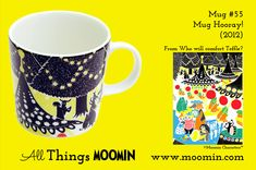 Moomin mug Hooray by Arabia - Moomin Moomin Mugs, Lassi, Tableware, Helsinki, Trays, Design, History, Dinnerware, Historia