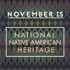 The month of November is a time to celebrate rich and diverse cultures, traditions, and histories and to acknowledge the important contributions of Native people. https://multibra.in/6t2w2