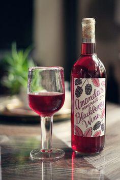 homemade blackberry wine. THE FINE ART OF FART WINE! HAHAHA
