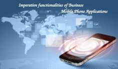 modern communication technology illustration with mobile phone and high tech background Application Development, Mobile Application, App Development, Mobile Technology, New Mobile, Free Stock Photos, Innovation, Business, Apps