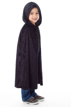 (ad)  Kids  dress-up cloak in black from Little Adventures. a9369d62e