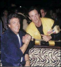 Jean Claude Van Damme y Sylvester Stallone. Sylvester Stallone, Kickboxing, Taekwondo, Muay Thai, Karate Shotokan, Claude Van Damme, Boys Don't Cry, Gta Funny, Martial Artists