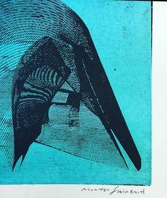 Close-up af Morten Steinbach's værk med lasercut-træsnit teknik til 1000kr på http://ift.tt/1IRCjwC #formatartspace #MortenSteinbach #tryk #træsnit #kunst #galleri #København by formatartspace