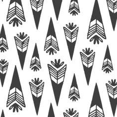 Hawthorne Threads - Bengal - Arrowheads in Onyx
