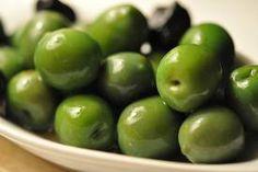 Castelvetrano olives. Buttery, crunchy, slightly salty.