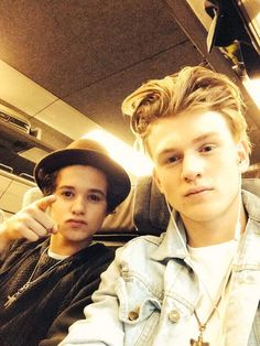 Brad and tristan