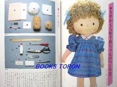 Eu Amo Artesanato: Detalhes da boneca japonesa yoko yoneyama