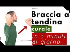 braccia a tendina curale in 3 minuti al giorno - YouTube Personal Gym, Personal Trainer, Yoga Fitness, Health Fitness, Leslie Sansone, Anti Cellulite, Keep Fit, Fitness Tracker, Zumba
