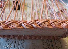 Мастер-класс Плетение: Коса на дне коробки из газетных трубочек. Мастер-класс. Бумага газетная, Трубочки бумажные Отдых. Фото 28