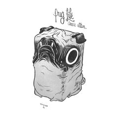 Pug Life by t-wei on deviantART
