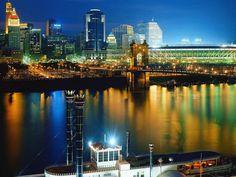 Great picture of downtown cincinnati