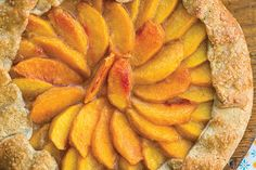 Find the recipe for Peach Galette and other peach recipes at Epicurious.com