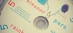 Eleanor & Park by Rainbow Rowell— Playlist that goes along with the book!