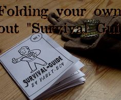 Today we're making a small Fallout Gadget.The Survival Guide isn't bound on a special Part of the Fallout Series, i just designed it for fun. The Video explains how...