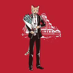 Assim como muita gente o artista Chow Hon Lam adora gatos, e fez ilustrações divertidas da vida secreta dos gatos.
