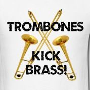 As we say in my marching band low brass kicks ass Marching Band Trombone, Trombone Jokes, Marching Band Mom, Band Nerd, Music Jokes, Music Humor, Band Jokes, Love Band, Brass Band