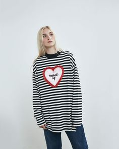 Lazy Oaf Messed Up Long Sleeve T-shirt