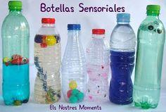 Este verano estamos aprovechando para hacer botellas sensoriales ahora que Nil ya es más grande y nos ha podido ayudar a hacerlas.        ...