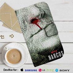 Narcos Movie from Netflix Leather Wallet iPhone 4/4S 5S/C 6/6S Plus 7  Samsung Galaxy S4 S5 S6 S7 NOTE 3 4 5  LG G2 G3 G4  MOTOROLA MOTO X X2 NEXUS 6  SONY Z3 Z4 MINI  HTC ONE X M7 M8 M9 CASE