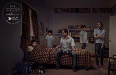 Publicidad en contra del maltrato infantil