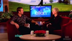 Paul Walker appears on NBC's 'The Ellen DeGeneres Show' where he promotes his new film 'Fast Five' as well as his orginization 'REACH OUT WorldWide.' Walker and DeGeneres race mini go karts