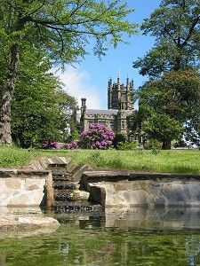 Margam Castle, Port Talbot, Wales. Built in 1830 on a site which had been occupied for some 4,000 years and which from the 11th century until the dissolution of the monasteries was an abbey