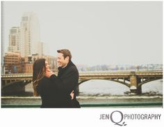city engagement session NEIL AND KAREN::ENGAGED!!  { Grand Rapids Michigan Wedding Photographer }