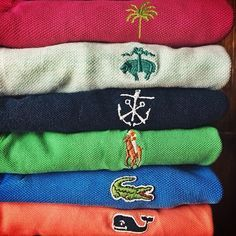 Lilly Pulitzer | Brooks Brothers | Kiel James Patrick | Polo Ralph Lauren | Lacoste | Vineyard Vines