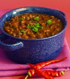 My Vegan Cookbook -Four Bean Crock Pot Chili
