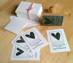 Costuramor: meu carimbo para cartão de visita