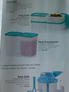 Great versatile must have containers www.mytupperware.com/missweyand