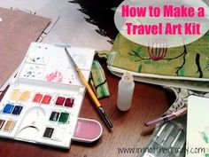 How to Make A Super Easy Travel Art Kit - Im Not the Nanny