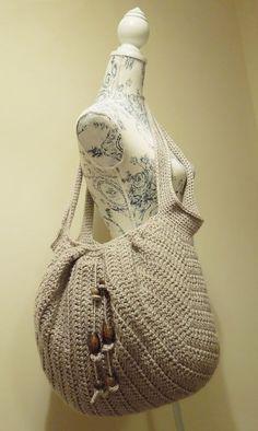 Awesome Crochet Market Boho Bag for Beginners. [Easy, Fast, Free Pattern] #Crochetforbeginners