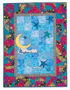When I got my very first computer, at the same time, I started to get interested in making quilts. I found houndreds of pictures through the internet but unfortunately I can't give credit to the authors of the quilts I found...If anyone recognizes someone's work, please let me know and I will give credit. This is one of the many discoveries I made...Many more to come...:)