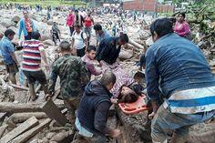 Avalancha que deja más de 200 muertos conmociona a Colombia
