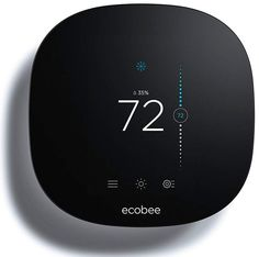 Save and conserve energy with this ecobee 3 Lite Smart thermostat. Web Design, App Ui Design, Wall Units With Fireplace, Home Thermostat, Modern Wall Units, Alexa Device, Works With Alexa, Spots, Smart Home