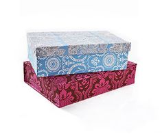 Fabric-Covered Boxes ~ Fabric-Covered Boxes  Store your stuff in style. Whether for your sewing room, bedroom, or home office, create custom storage with personal flair.