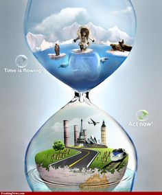 Image detail for -Global Warming Hourglass Pictures - Strange Pics - Freaking News Save Water Drawing, Top Imagem, Earth Book, Ariana Grande Drawings, Book Background, Love The Earth, Jar Art, Change Image, Creative Advertising