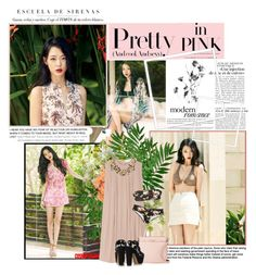 """Sulli of f(x) for Cosmopolitan June 2015 Issue"" by xoreinaox ❤ liked on Polyvore"