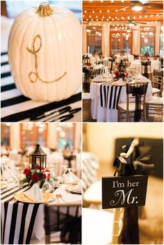 Black, White, Red, & Gold Fall Wedding Decor Inspiration | Arizona Wedding Photographers Dan & Erin PhotoCinema | The Wright House Mesa Arizona