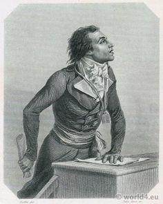 French politician Bertrand Barère. French Revolution History.