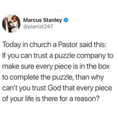"""At church this morning the pastor said something that stuck With me. He said """"Remember, no matter what you're going through, if God woke you up this morning He's not finished with you. There's a purpose for your pain. Bible Verses Quotes, Jesus Quotes, Faith Quotes, True Quotes, Scriptures, Mood Quotes, Positive Quotes, Bibel Journal, Affirmations Positives"""