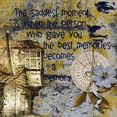 Home Comforts, Best Memories, Digital Scrapbooking, Sad, Layout, In This Moment, Page Layout