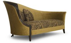 """Christopher Guy Collections Morgins This spectacular addition to the Christopher Guy repertoire of accent pieces with tall cobra-back and Chris-cross legs combines comfort and drama. Size W37 x D32 x H59"""""""