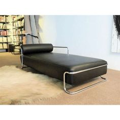 Modernist Daybed Edited By Thonet France, Attributed To Emile Guillot. Lounge  ChairsLounges