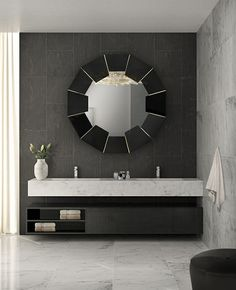 If you're fan of the black color for the interior decoration of your bathroom, then you must see the 10 black luxury bathroom design ideas by Luxury Bathrooms. Luxury Bathtub, Bathroom Design Luxury, Luxury Interior Design, Bathroom Interior, Luxury Bathrooms, Master Bathrooms, Luxury Decor, Small Bathrooms, Beautiful Bathrooms