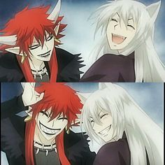 Akura-ou and Tomoe when they were friends. -- Anime, Kamisama Hajimemashita, Kamisama Kiss, friendship, past, characters, scenes, moments