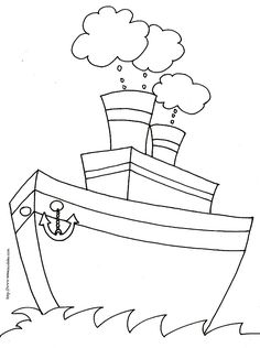 coloriage bateau aux 2 cheminées Baby Quilts, Hand Embroidery, Wings, Symbols, Animation, Letters, Diy, Grammar, Wheels