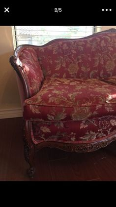 Furniture (floral sofa with wood carvings) Italian style for Sale in Aliso Viejo, CA - OfferUp Floral Sofa, Aliso Viejo, Casa Patio, Fabric Sectional, Wood Carvings, Italian Style, Modern Farmhouse, Buy And Sell, Couch